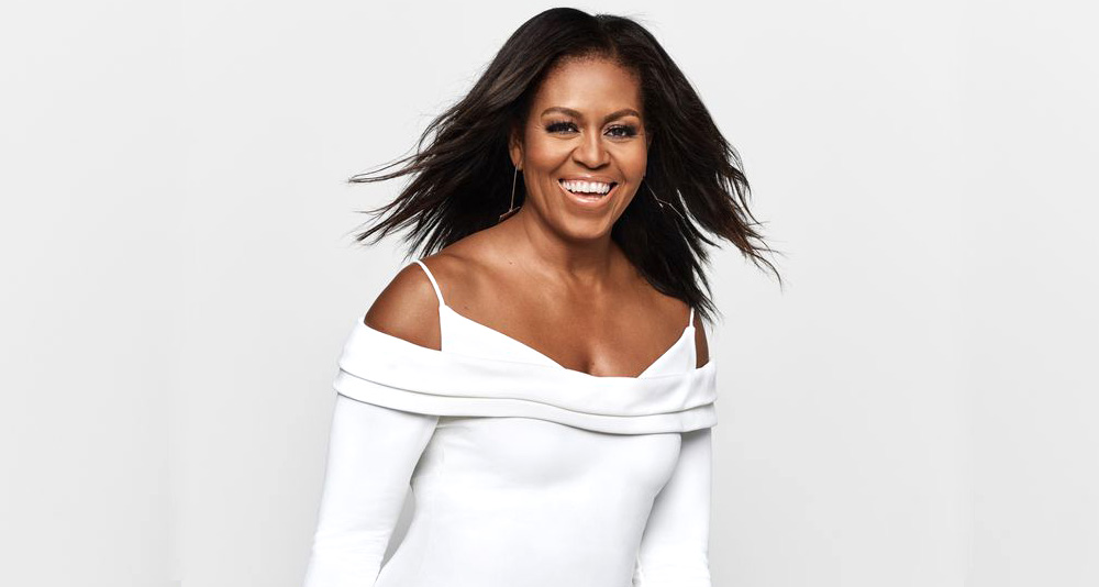 Michelle Obama na capa da Elle USA com look bicolor